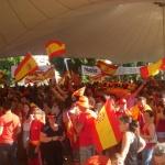 Crisana con la Selección Española