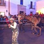 Espectaculo T-Rex Baby en Cartaya
